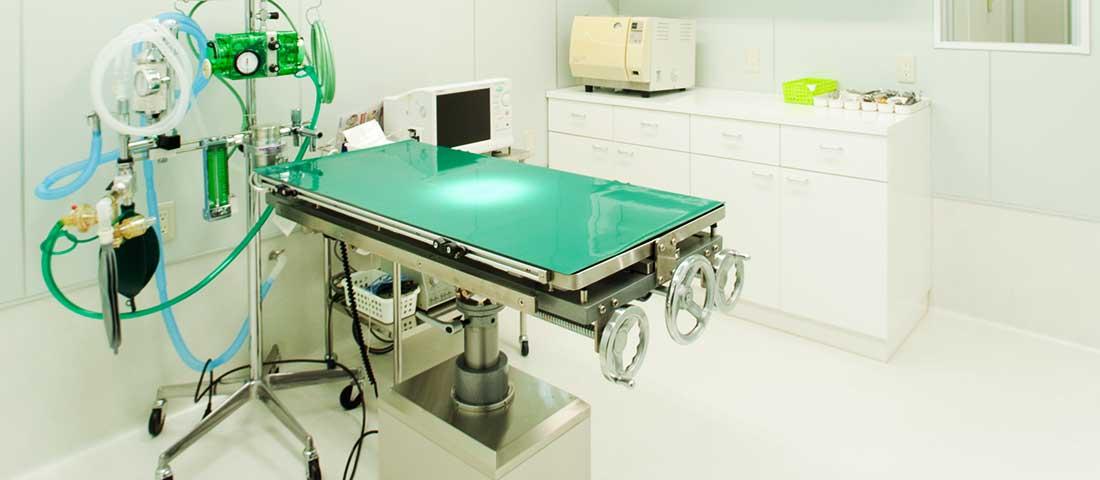 手術室のようす